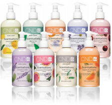 CND Scentsations hand & body lotions & Washes 245ml Bottles NEW