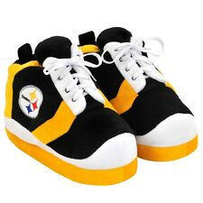 Pittsburgh Steelers NFL Football 2012 Colorblock Sneaker Slippers - Choose Size