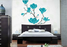 Flower Blossom Wall Decal Tree Branch Wall Sticker Living Room Bedroom Removable