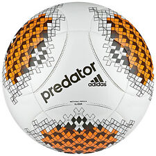 adidas Predator Capitano GL 2013 Soccer BALL White / Orange/ Black Brand New