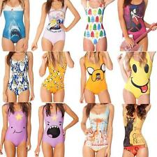 New Adventure Time Swimwear Sexy Bikini Cool Printed Swimsuit One-Piece Monokini