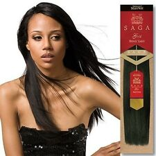 "Milky Way Saga Gold Remy Human Hair Yaky Weave Extension 10S 10"" 12"" 14"" 16"" 18"""