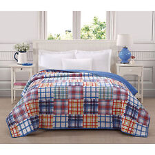 Ashley Cooper Patchwork Print Quilt Brand New In Twin, Full/Queen, or King Size