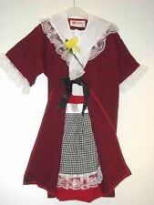 TRADITIONAL WELSH GIRLS FANCY DRESS DRESSING UP COSTUME ST DAVID'S DAY BRAND NEW
