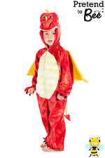 KIDS CHILDRENS RED DRAGON CHINESE NEW YEAR DRESS UP COSTUME OUTFIT AGE 3 4 5 6 7