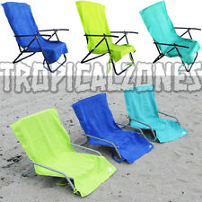 Sand Chair Covers by Lounge Lizard Quick Dry Colors Teal Green Blue Beach Hotel
