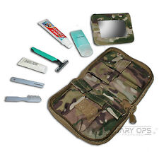 COMPACT WASH KIT MTP MULTICAM UTP FULLY LOADED MILITARY ARMY CADET CLEAN BRUSH