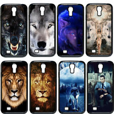 Funny Wolf The Lion For Samsung Galaxy S4 I9500 Durable Hard Plastic Case Cover