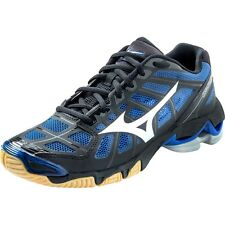 Mizuno Wave Lightning RX2 Womens Black Royal Volleyball Shoes 430155.9052 NEW