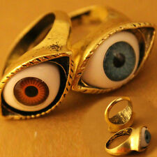 Womens Rock Retro Vintage Fashion Evil Eye Finger Ring Punk Gothic Jewelry Gift