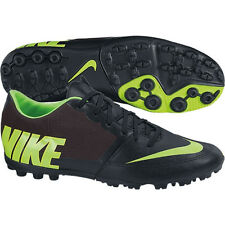 Nike Nike5 Bomba PRO TF II 2014 Turf Soccer Shoes Black / Neon Yellow Brand New