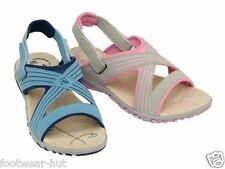 LADIES WOMENS DUNLOP WALKING SUMMER BEACH VELCRO SANDALS SIZE 3 4 5 6 7 8 NEW