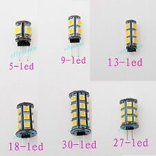 G4 5050 SMD 5/9/13/18/27/30 LED Light Warm/Pure White Cabinet Bulb Lamp DC 12V