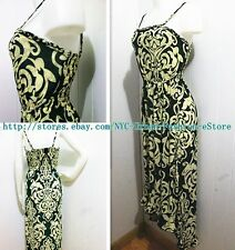 New Women High Low Exotic Pattern Fashion Dress BOHO Fishtail MAXI Sundress #O3