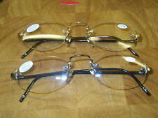 READING GLASSES  ND9935 1.25/1.50/1.75/2.00/2.25/2.75  ROSE GOLD AND GUN