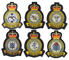RAF Royal Air Force Station Base - OFFICIAL MOD Approved Embroidered Patch Badge