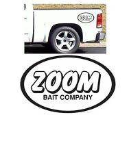ZOOM decal sticker fishing bait rod reel big large gear tackle boat lure hook