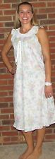"""Nightgown Sleeveless Very Pretty Matching Robe Available """"Made in the USA"""""""