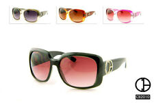 New Women's CB Designer Fashion Eyewear Sunglasses with CB Logo In Rhinestones