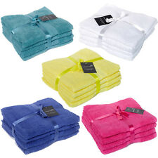 Luxury 100% Egyptian Cotton Hand Towel Bale - 4 Piece Set