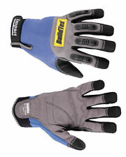 HIGH PERFORMANCE IMPACT GLOVES NAVY HEAVY DUTY MECHANICS IMPACT WORK GLOVES
