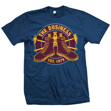 The Business - Westham T-Shirt Oi Punk NEU 4 Skins Cock Sparrer Cockney Rejects