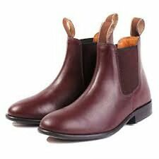 Brand New Loveson Malvern Oxblood Jodphur Riding Boots Childs/Adult size