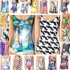 New Arrival Swimwear Bikini Adventure Time Colorful Printed One-Piece Monokini