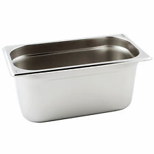 Extra Heavy Gauge Premium Stainless Steel Gastronorm Pans 1/4