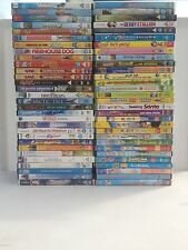 LARGE COLLECTION OF 60 CHILDRENS / KIDS / FAMILY DVDS CHOOSE FROM THE LIST