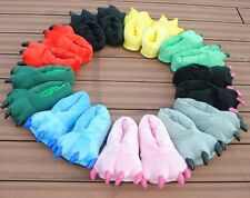 1 Pair Stitch Big Feet Foot Bear Pajamas Cosplay Animal Claw Paw Slipper Paw