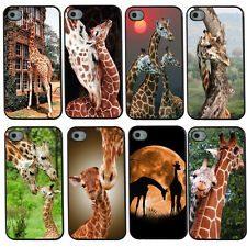 Cool Giraffe Hard Snap On Plastic Back Case Cover For Apple iPhone 4 4S 5 5S 5C