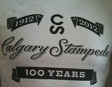 Calgary Stampede 100th Anniversary Vintage T-Shirts!  Brand New With Tags!