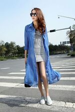 2014 Summer Womens Long Sleeves Prevent Bask In Clothes Uv Protection Thin Coat