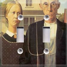 Historical Art ~ American Gothic~Light Switch Plate Cover ~Home Decor