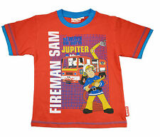 Fireman Sam Kids Cotton T. Shirts