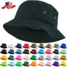 Bucket Hat Boonie Basic Hunting Fishing Outdoor Cap Unisex 100% Cotton NEW