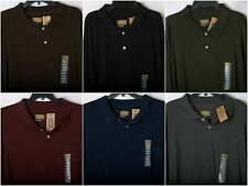 NEW Foundry MENS Big And Tall POLO SHIRT Long Sleeve Multiple Sizes/Colors _NWT