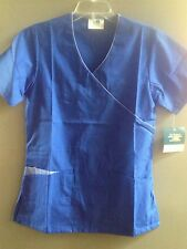 608 Sale Brand New Top ADAR Medical Uniforms Scrubs Hospital Mock Wrap