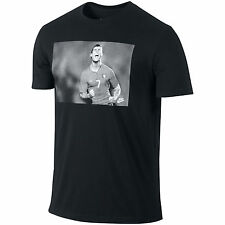 Nike Portugal Cristiano Ronaldo CR7 2014 Vintage Hero SOCCER Shirt New Black