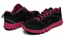 Womens LA Gear® Delight Black/Fuchia Running CrossTraining Shoes $55 Size
