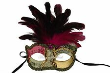 Fancy Dress Feather Prom Party Masquerade Ball Mask Costume Party Halloween Fun