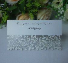 Wedding Reception Table Place Cards,Invitation Name Card Favors Decoration Laser