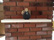 """12"""",18"""",24"""",36"""" Hand Made Painted/Stained/Unfinished Pine Floating Shelf 4"""" Deep"""