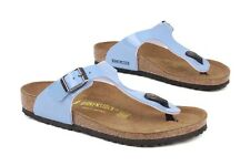 Birkenstock Gizeh Kinder 345153 New PS Youth Kids Blue Lagoon Sandals Shoes