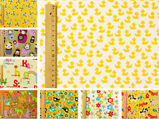Yellow Kids FQ ♥ Children Boy Girl ♥ Sewing Quilting Crafts Bunting ♥100% Cotton