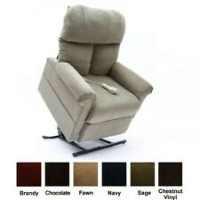New Sage Green Fabric Easy Comfort LC-100 Power Lift Chair Mega Motion Recliner