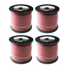 "Bulk Gatorline .080"" - .130"" GA Round Weed Whacker String Trimmer Red Line Spool"