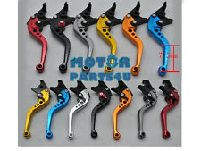 Motorcycle Brake Clutch Shorty Levers For Triumph 2011-2013 675R Grey Black