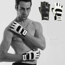 Sport Workout Fitness Weight Lifting Boxing Training Body Building Gloves Char